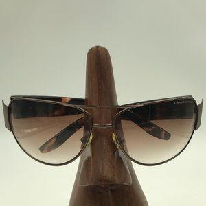 Armani Exchange AX045/s Brown Oval Sunglasses